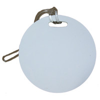 Round Luggage Tag
